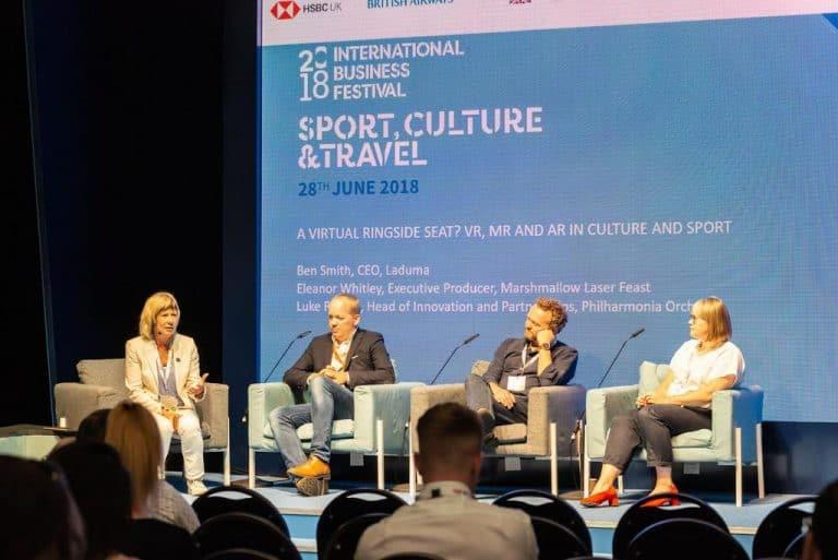 International Festival for Business 2018 panel event