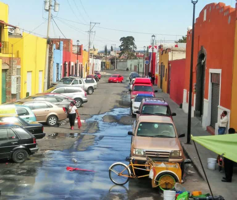 Puebla residential neighbourhoods, Mexico