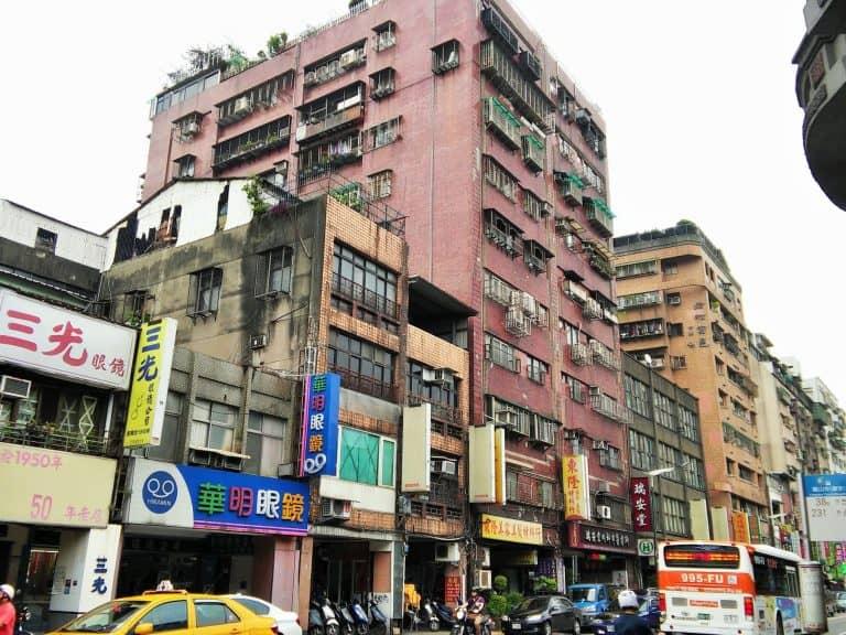 Taipei city centre
