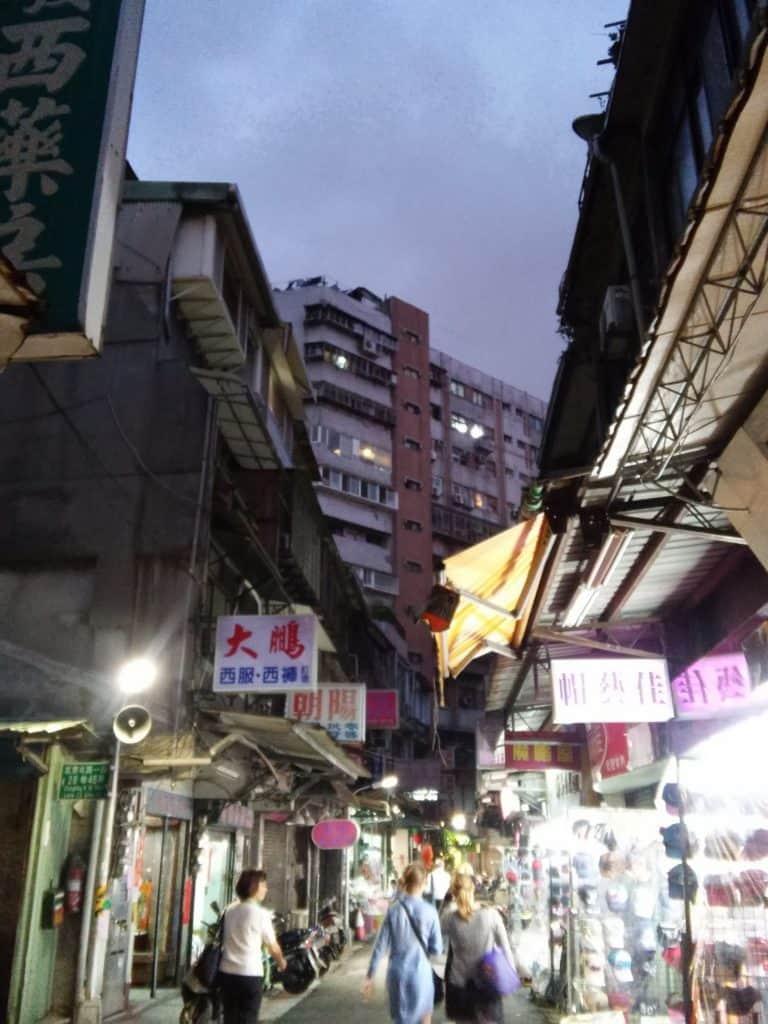 Taipei city centre historic district