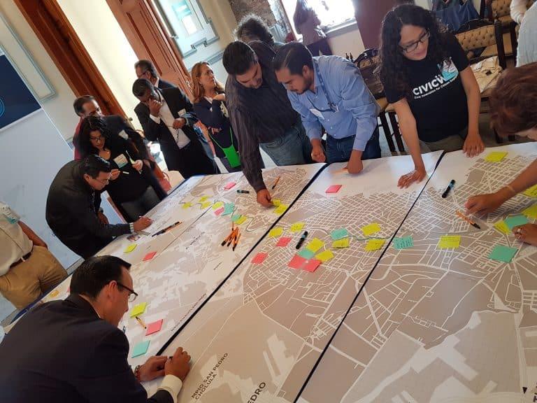 community design charette, Mexico
