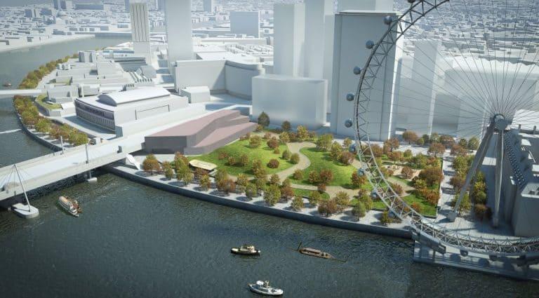 BFI Film Centre site concept proposal