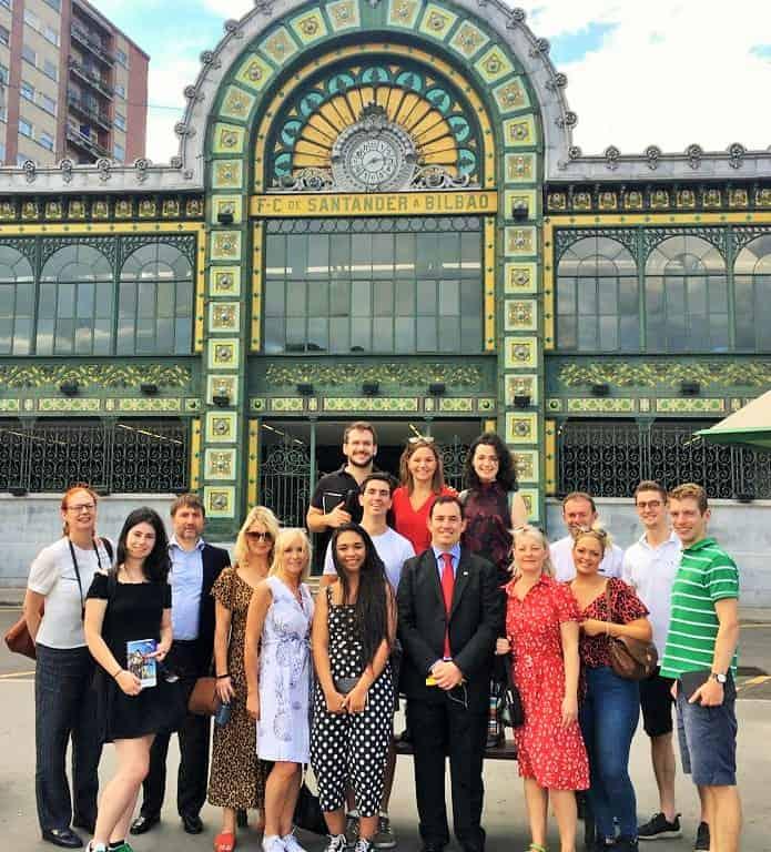 Grosvenor Estates - Bilbao study visit