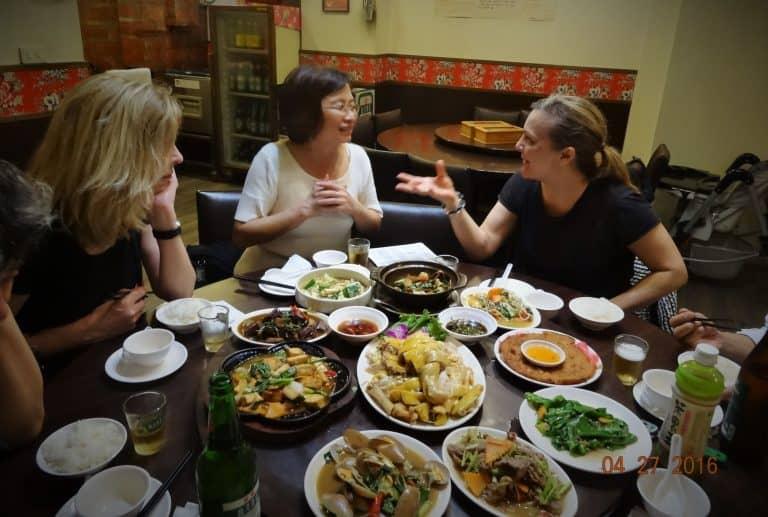 Taipei working dinner