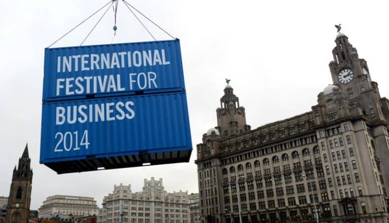 IFB2014 launch, Liver Building Liverpool