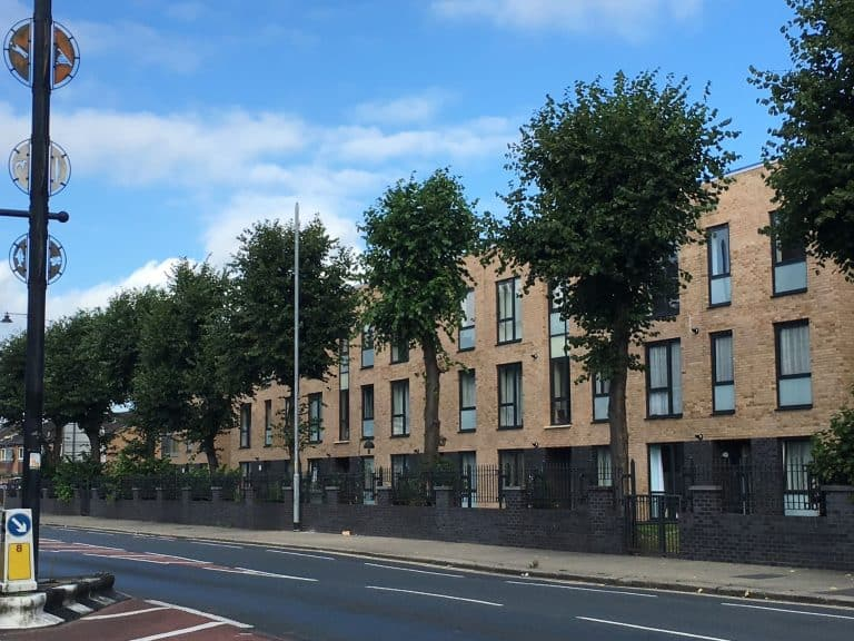 Old Trafford Masterplan new housing on Stretford Road