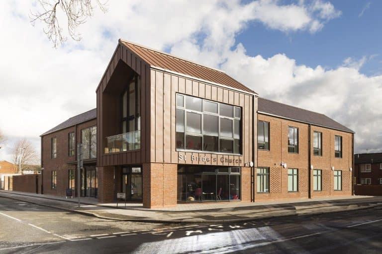 new St Brides Church & Community Centre, Old Trafford Masterplan
