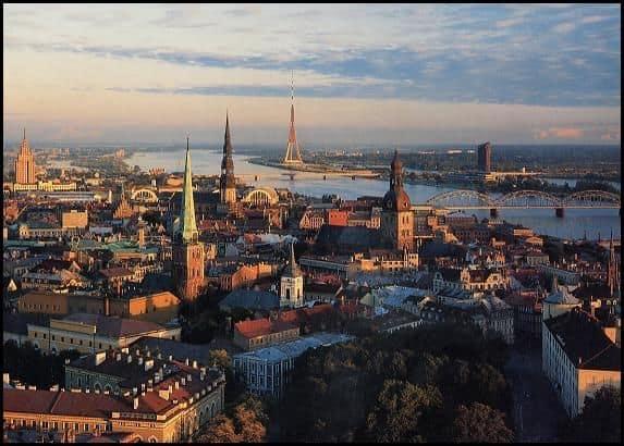 City of Riga vista