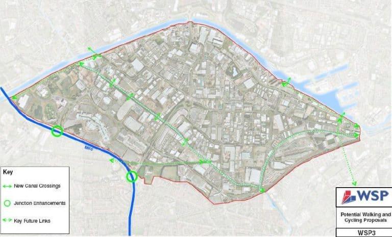 Trafford Park Walking & Cycling measures