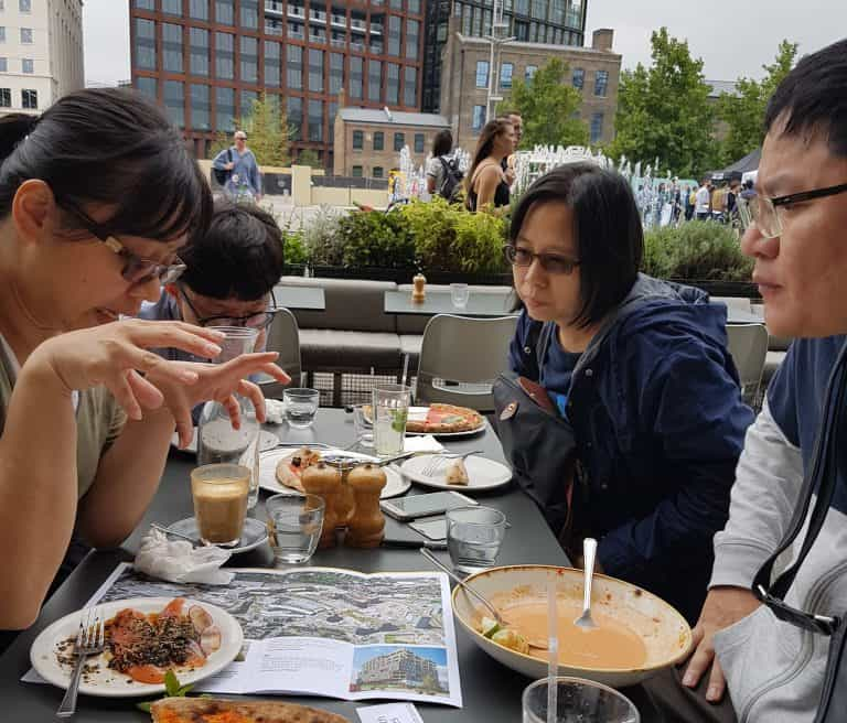 City of Taipei - Kings Cross working lunch