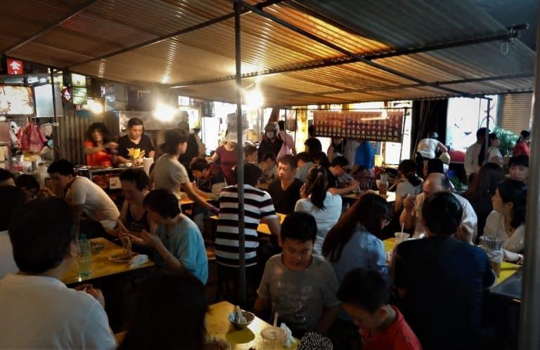 Taipei night foodstalls
