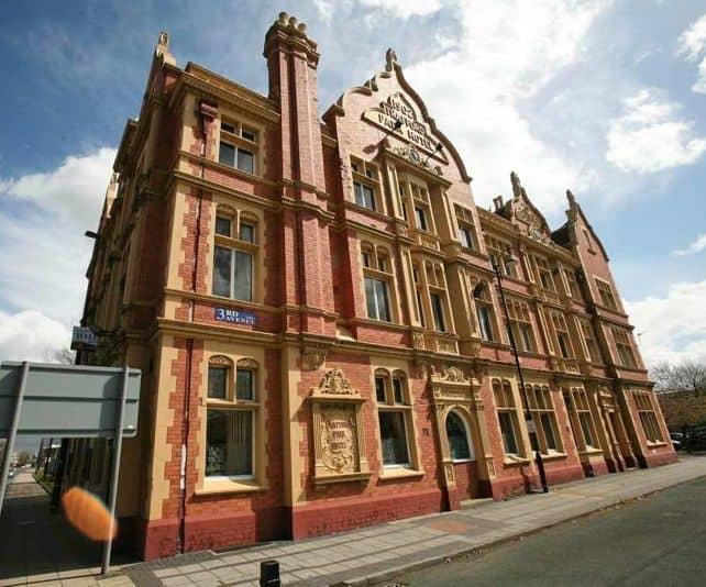 Trafford Park Hotel, historic building