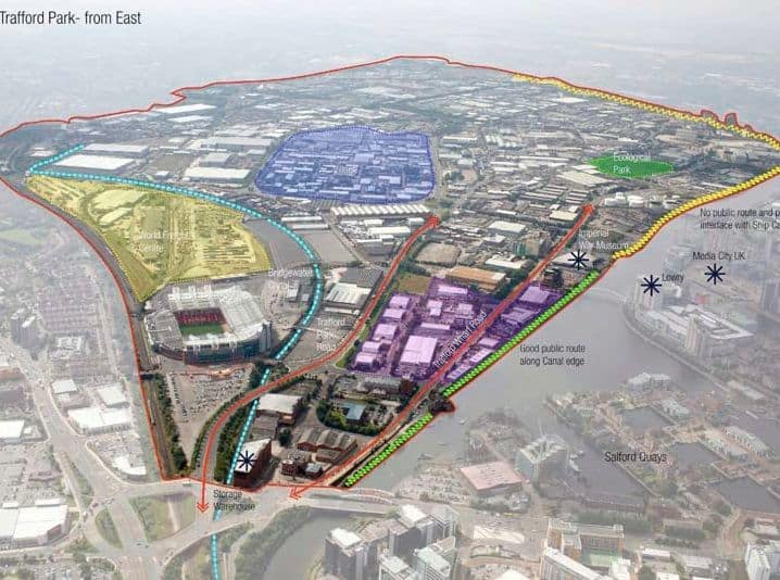 Trafford Park - potential from East