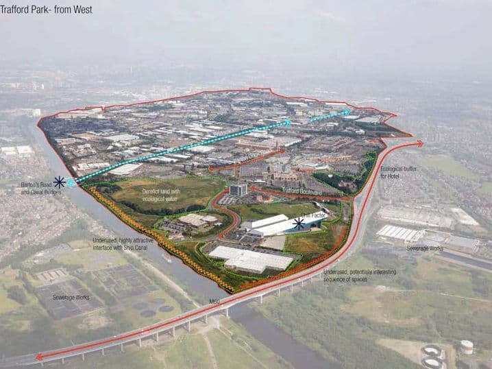 Trafford Park - potential from West