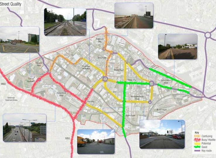 Trafford Park - street quality