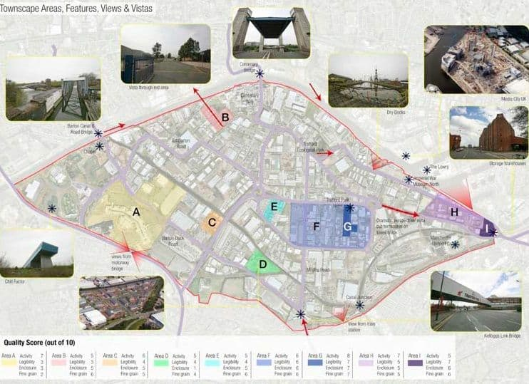 Trafford Park - townscape area ratings