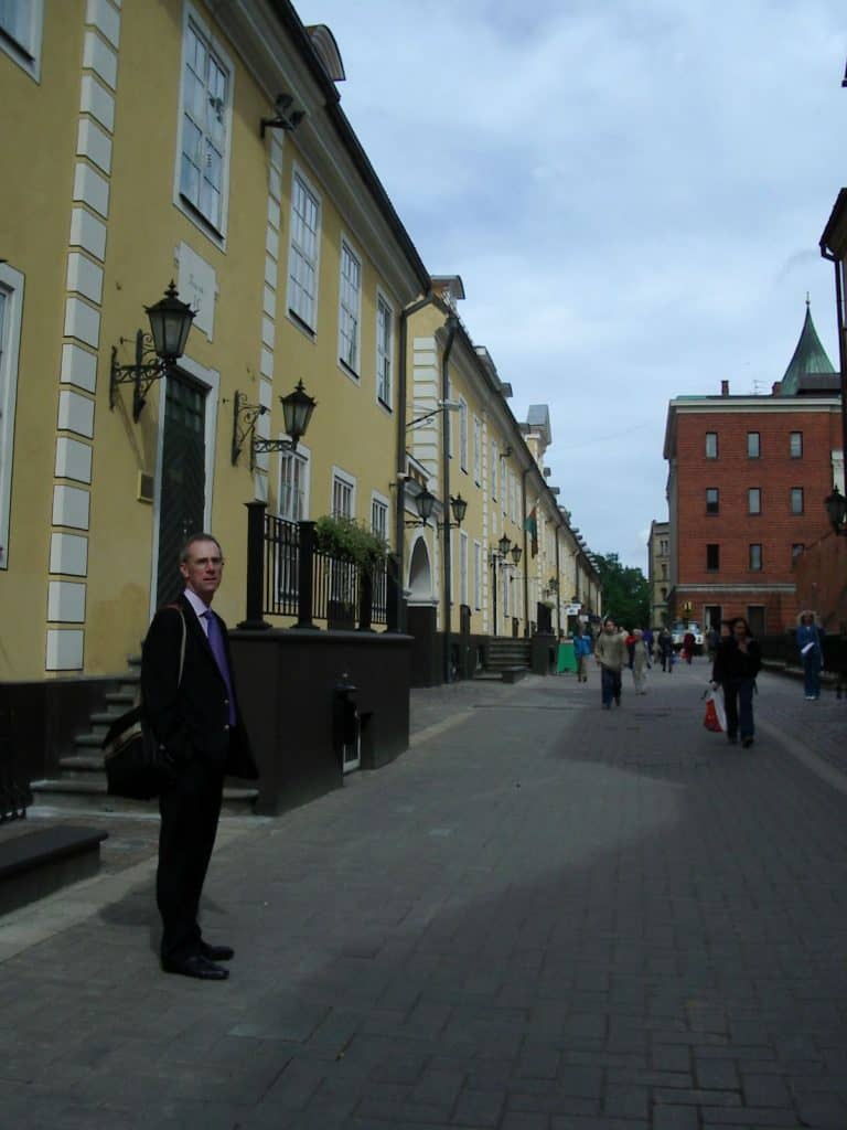 City of Riga historic centre site visit